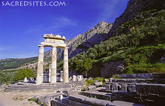 The Tholos Temple, Sanctuary of Athena Pronaia, Delphi